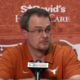 tom herman texas business card