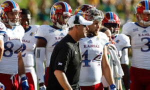 NCAA Football: Kansas at Baylor