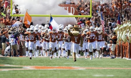NCAA Football: Maryland at Texas