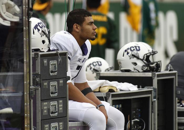 NCAA Football: Texas Christian at Baylor