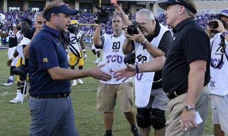 NCAA Football: West Virginia at Texas Christian