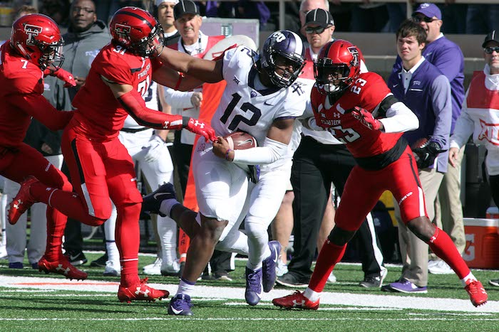 NCAA Football: Texas Christian at Texas Tech