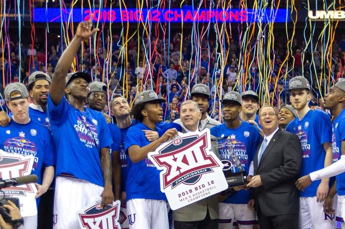 NCAA Basketball: Big 12 Conference Tournament Championship-West Virginia vs Kansas