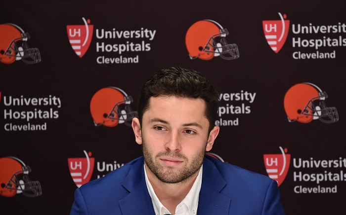 NFL: Cleveland Browns-Press Conference