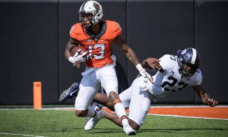 NCAA Football: Texas Christian at Oklahoma State