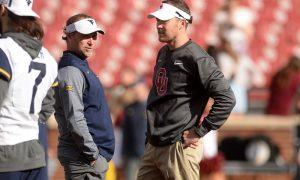 NCAA Football: West Virginia at Oklahoma