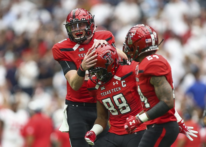 NCAA Football: Mississippi at Texas Tech