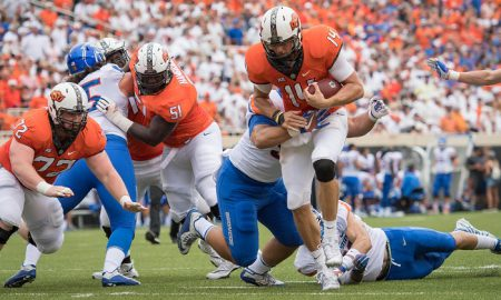 NCAA Football: Boise State at Oklahoma State