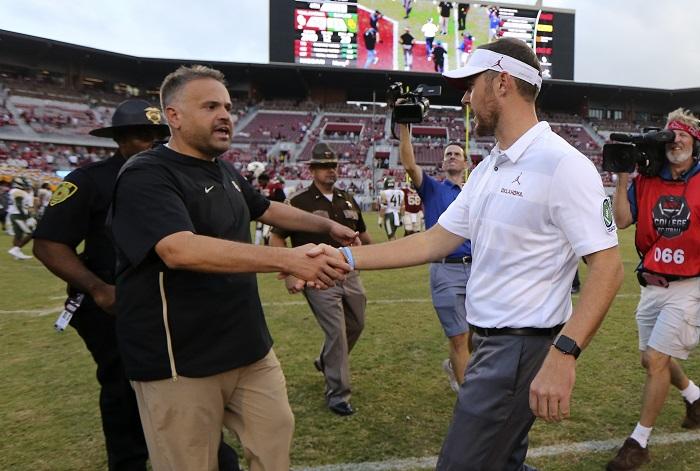NCAA Football: Baylor at Oklahoma