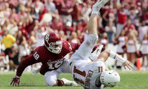 NCAA Football: Texas at Oklahoma