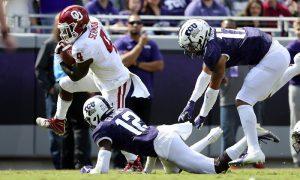 NCAA Football: Oklahoma at Texas Christian
