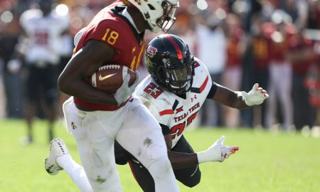 NCAA Football: Texas Tech at Iowa State