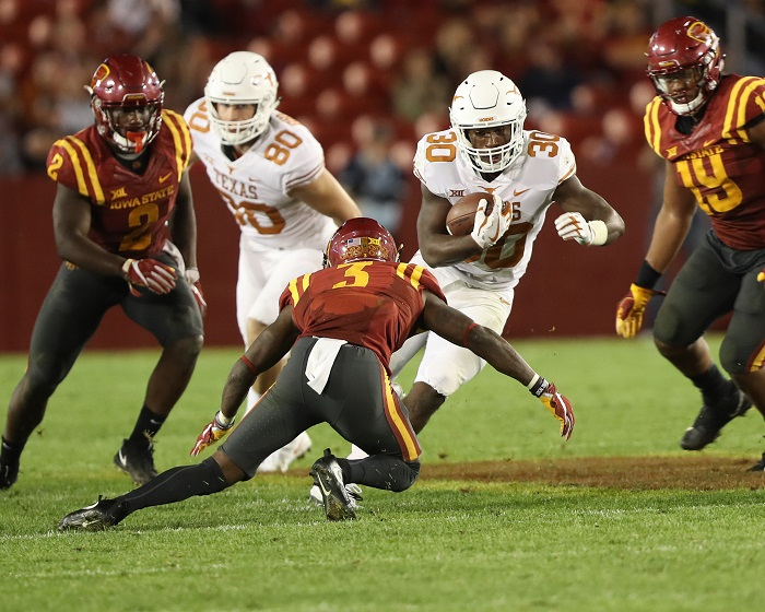 NCAA Football: Texas at Iowa State