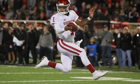NCAA Football: Oklahoma at Texas Tech