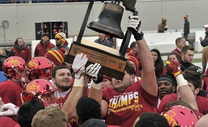 NCAA Football: Liberty Bowl-Iowa State vs Memphis