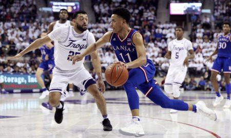 NCAA Basketball: Kansas at Texas Christian