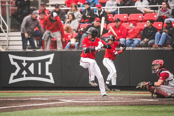 Texas Tech baseball Gabe Holt