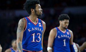 NCAA Basketball: Kansas at Oklahoma